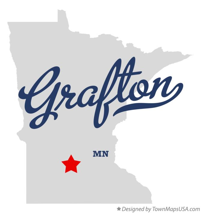 Map of Grafton Minnesota MN