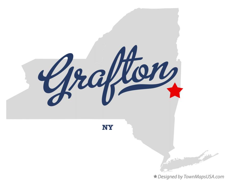 Map of Grafton New York NY