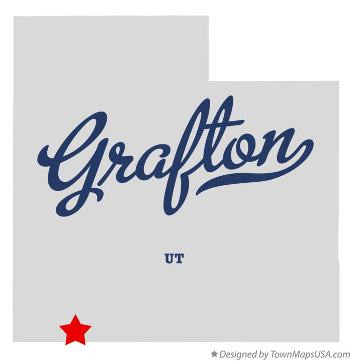 Map of Grafton Utah UT