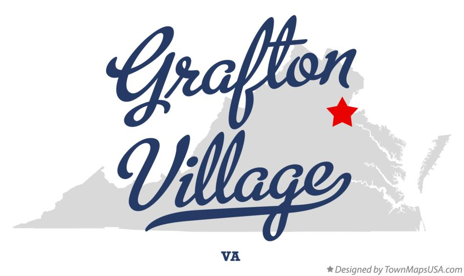 Map of Grafton Village Virginia VA