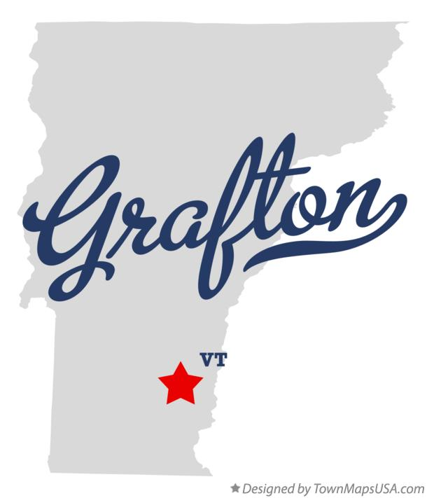 Map of Grafton Vermont VT