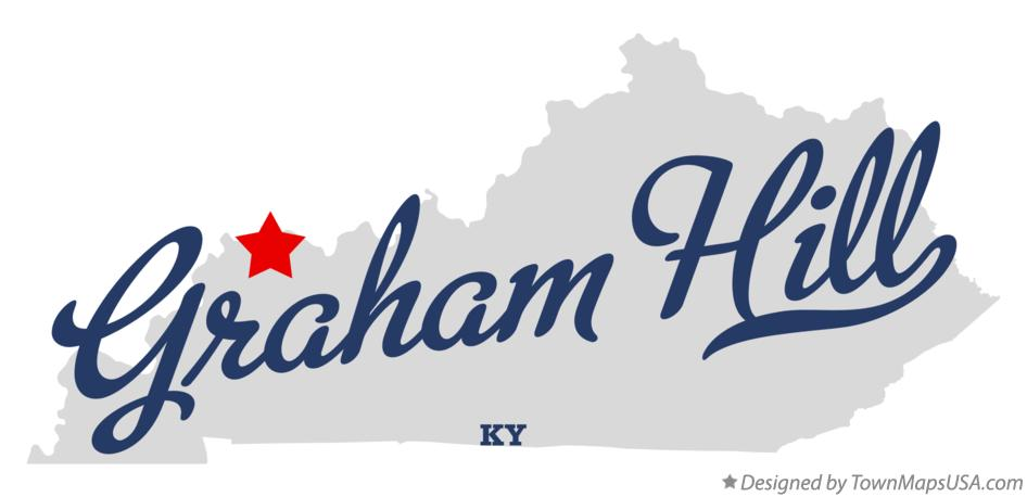 Map of Graham Hill Kentucky KY