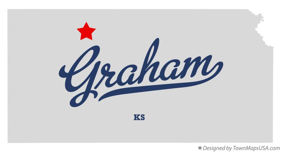 Map of Graham Kansas KS