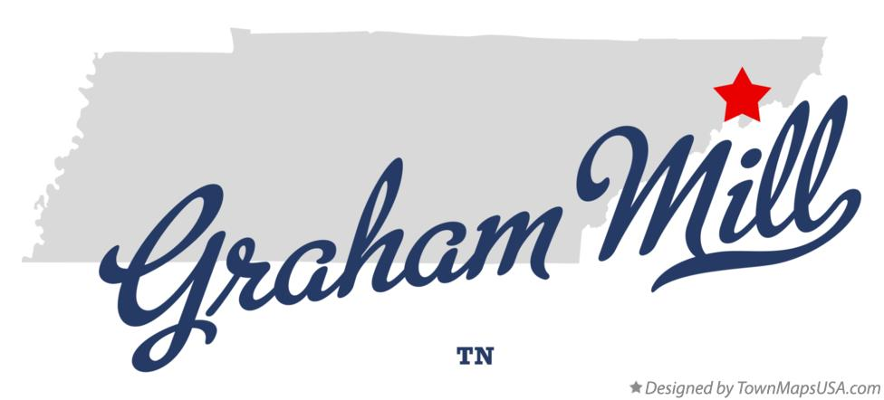 Map of Graham Mill Tennessee TN