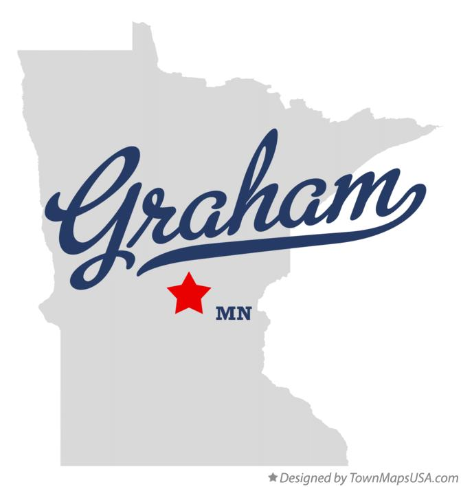 Map of Graham Minnesota MN