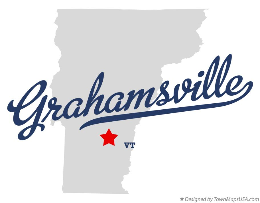Map of Grahamsville Vermont VT