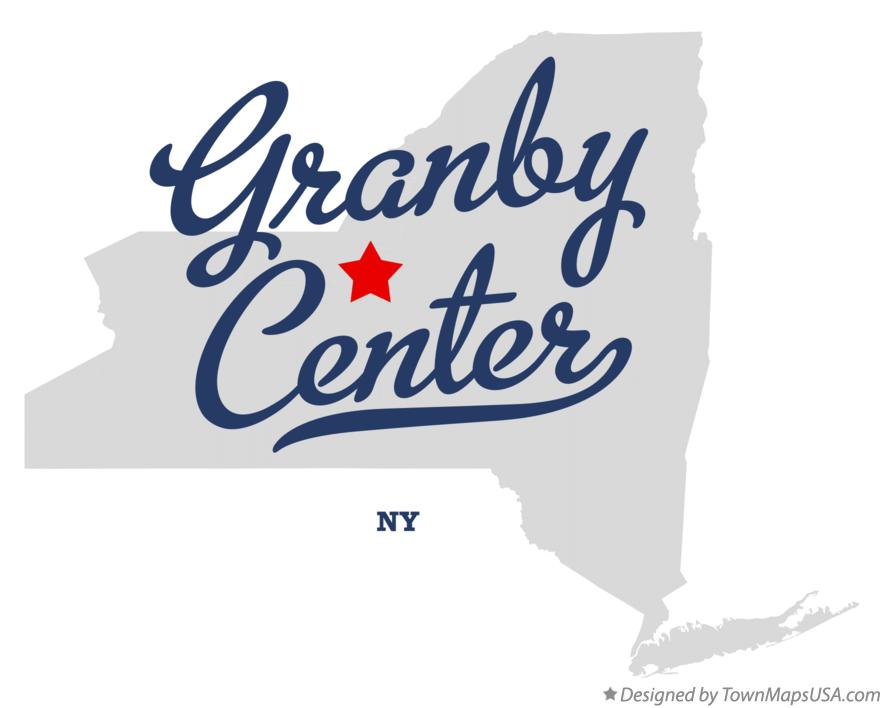 Map of Granby Center New York NY