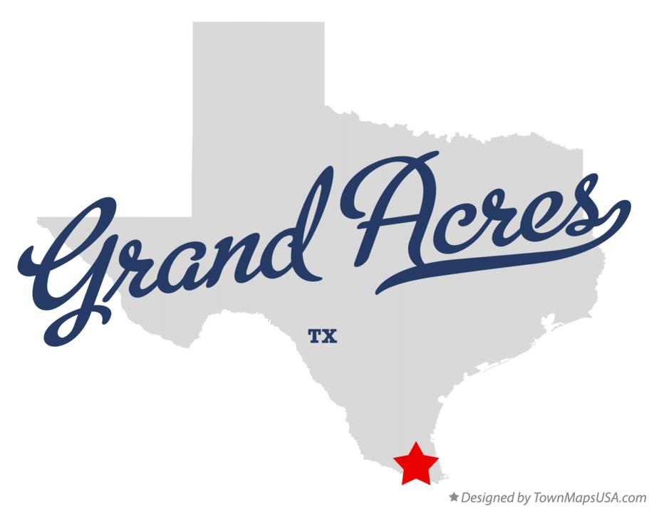 Map of Grand Acres Texas TX