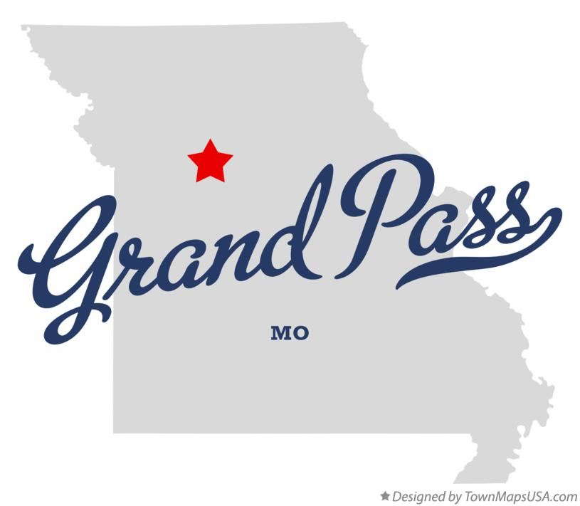 Map of Grand Pass Missouri MO