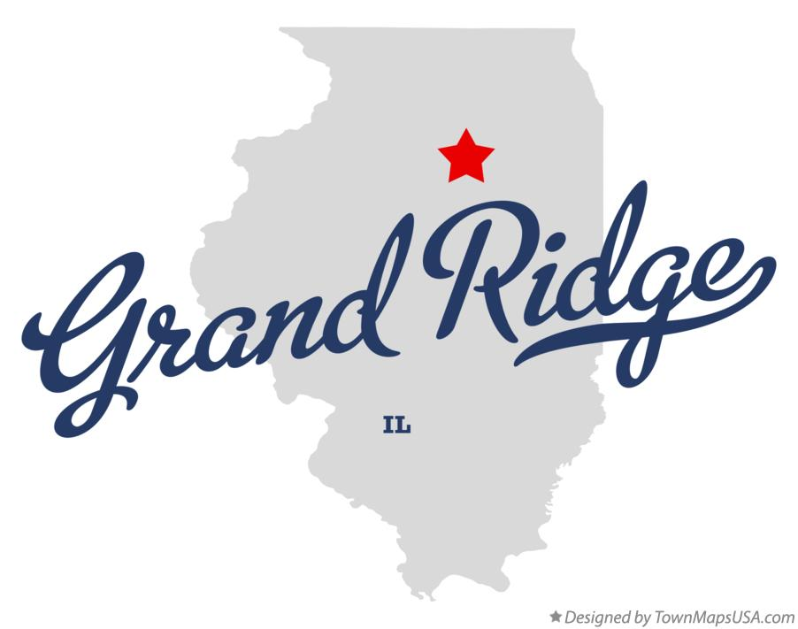 Map of Grand Ridge Illinois IL