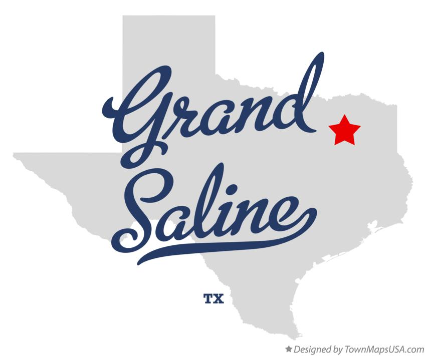 Map of Grand Saline Texas TX