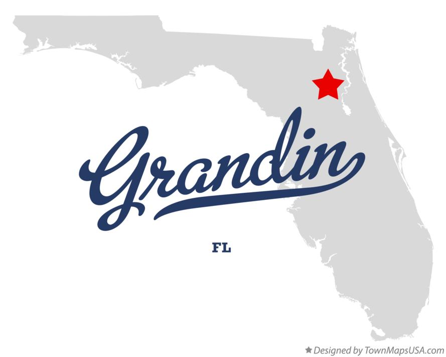 Map of Grandin Florida FL