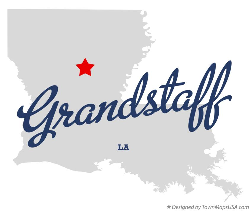Map of Grandstaff Louisiana LA