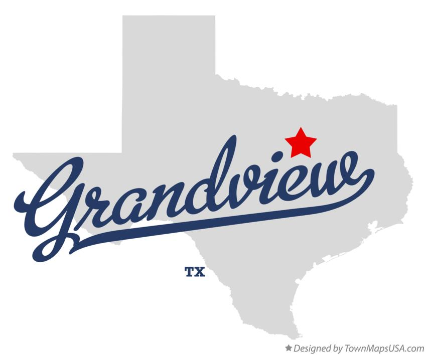 Grandview Texas Map