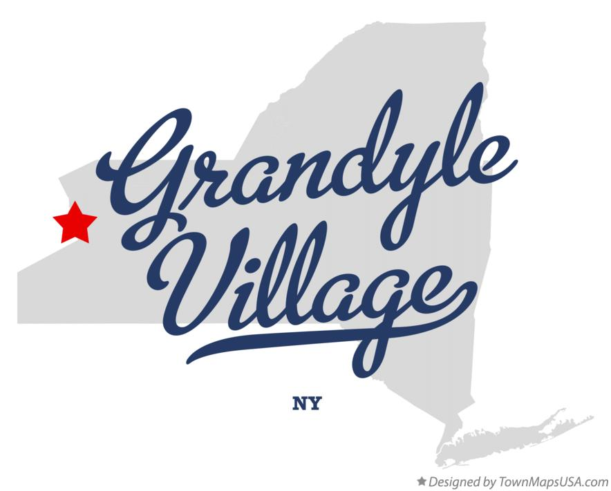 Map of Grandyle Village New York NY