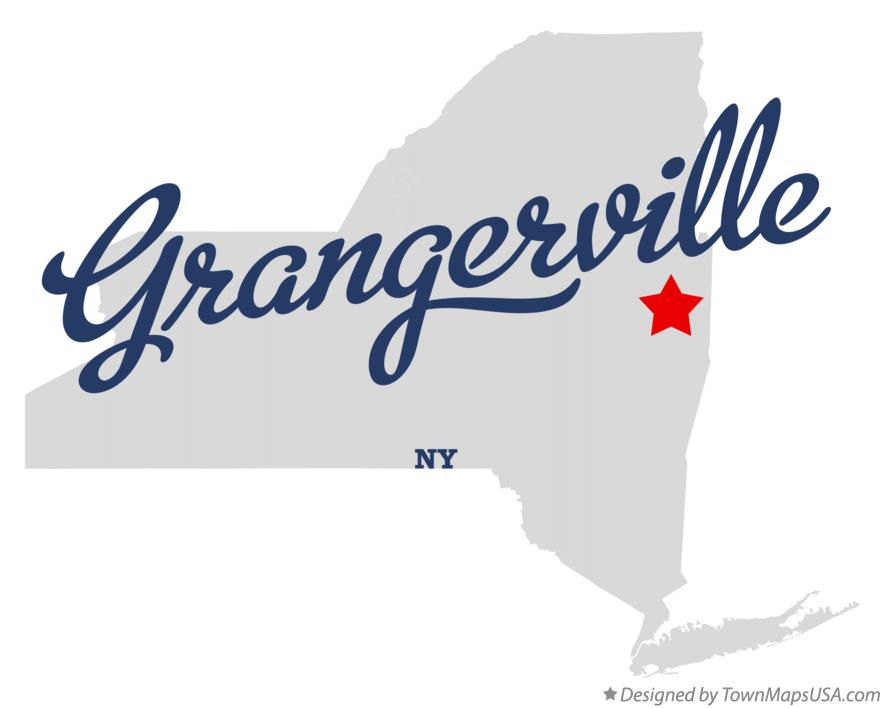 Map of Grangerville New York NY