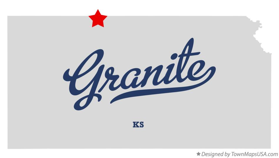 Map of Granite Kansas KS
