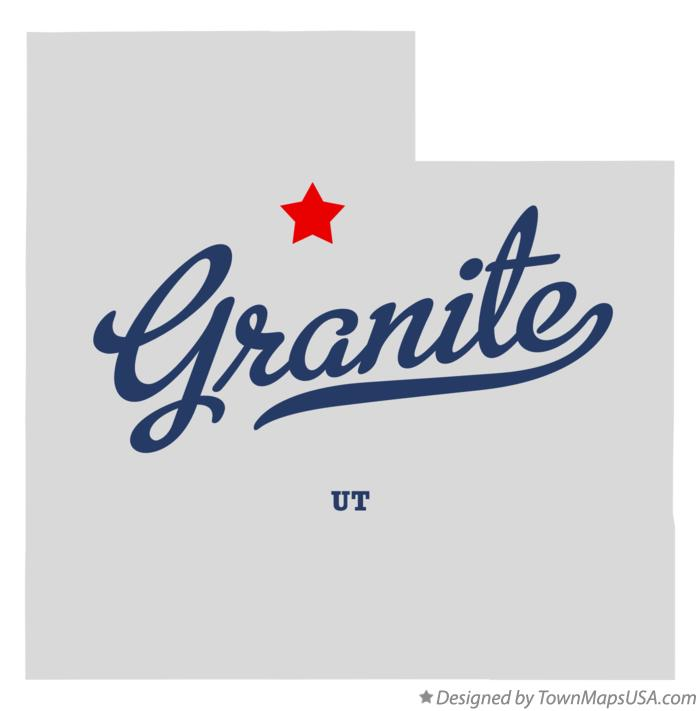 Map of Granite Utah UT