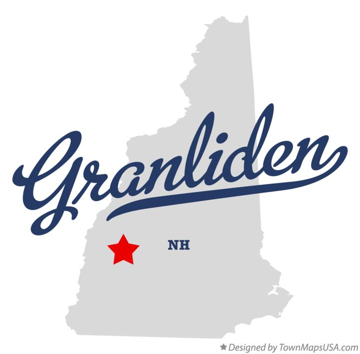 Map of Granliden New Hampshire NH