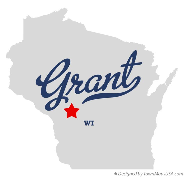 Map of Grant Wisconsin WI