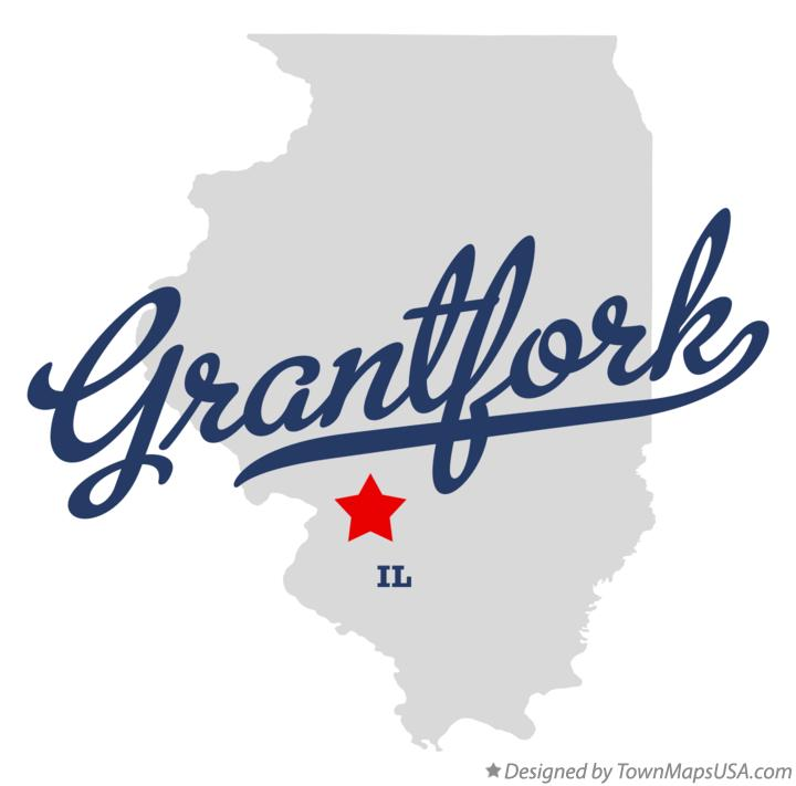 Map of Grantfork Illinois IL