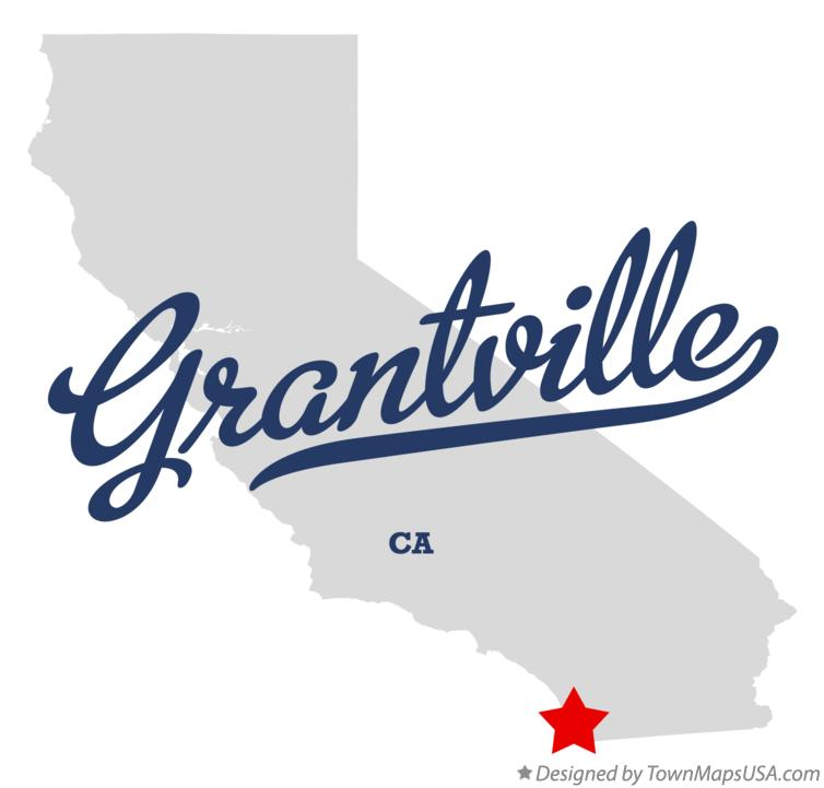 Map of Grantville California CA
