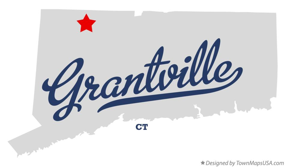 Map of Grantville Connecticut CT