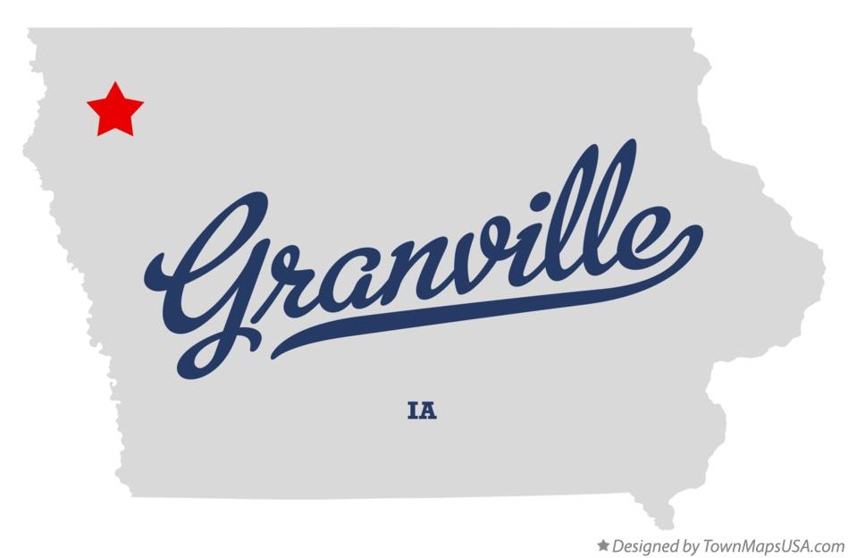 Map of Granville Iowa IA