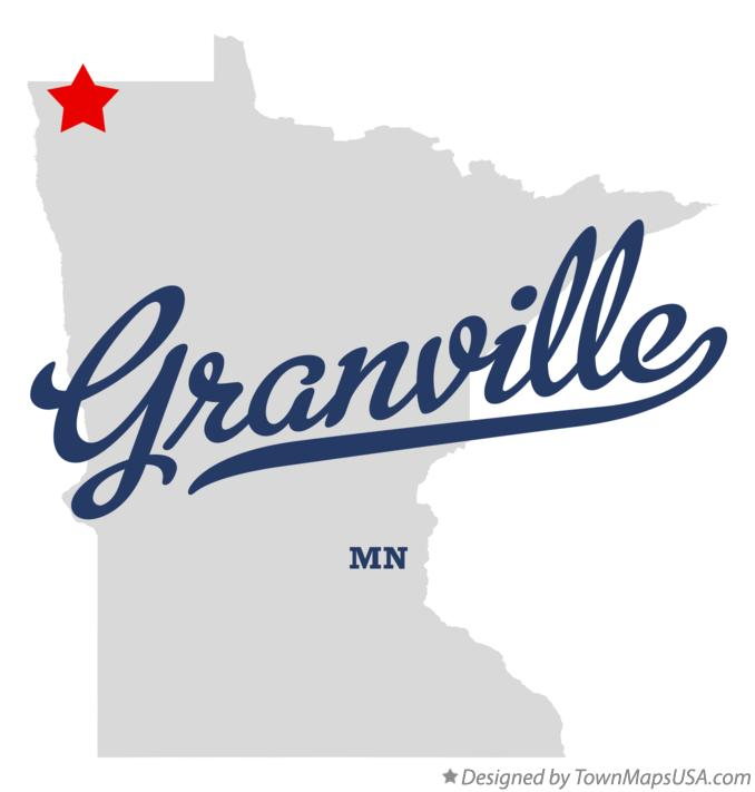 Map of Granville Minnesota MN