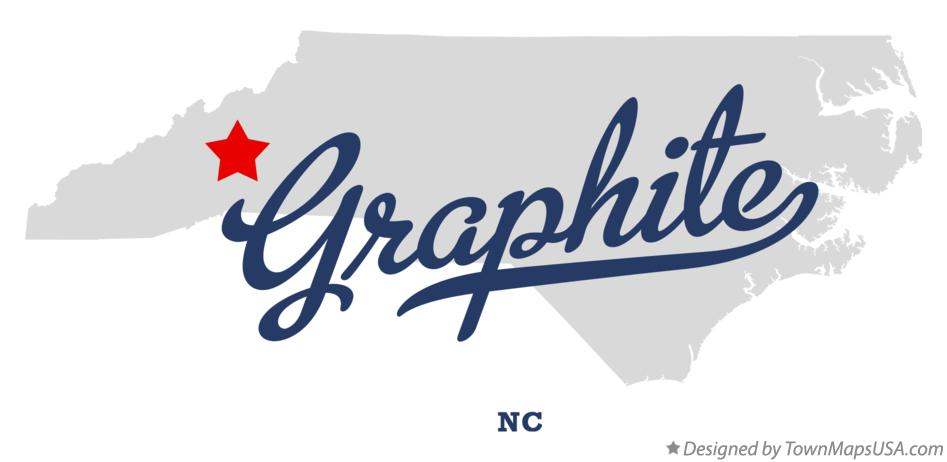 Map of Graphite North Carolina NC