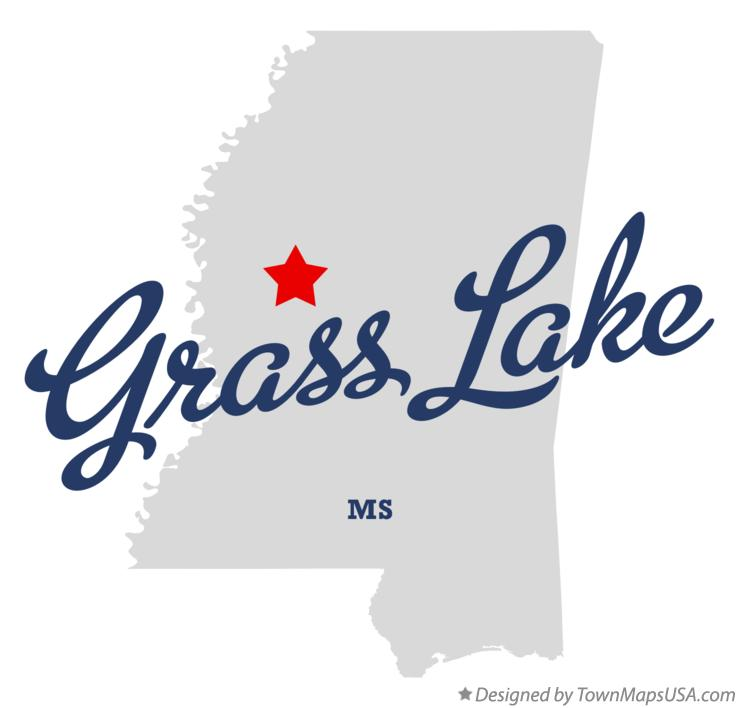 Map of Grass Lake Mississippi MS