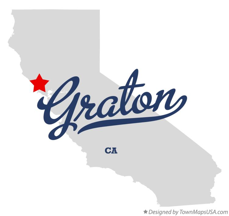 Graton California Map.Map Of Graton Ca California