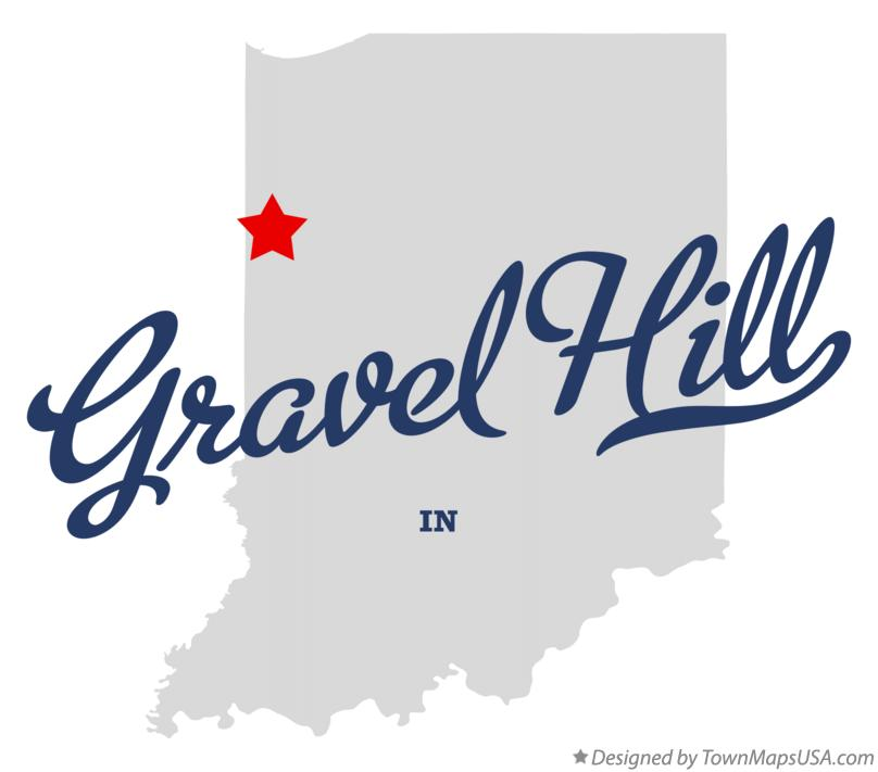 Map of Gravel Hill Indiana IN