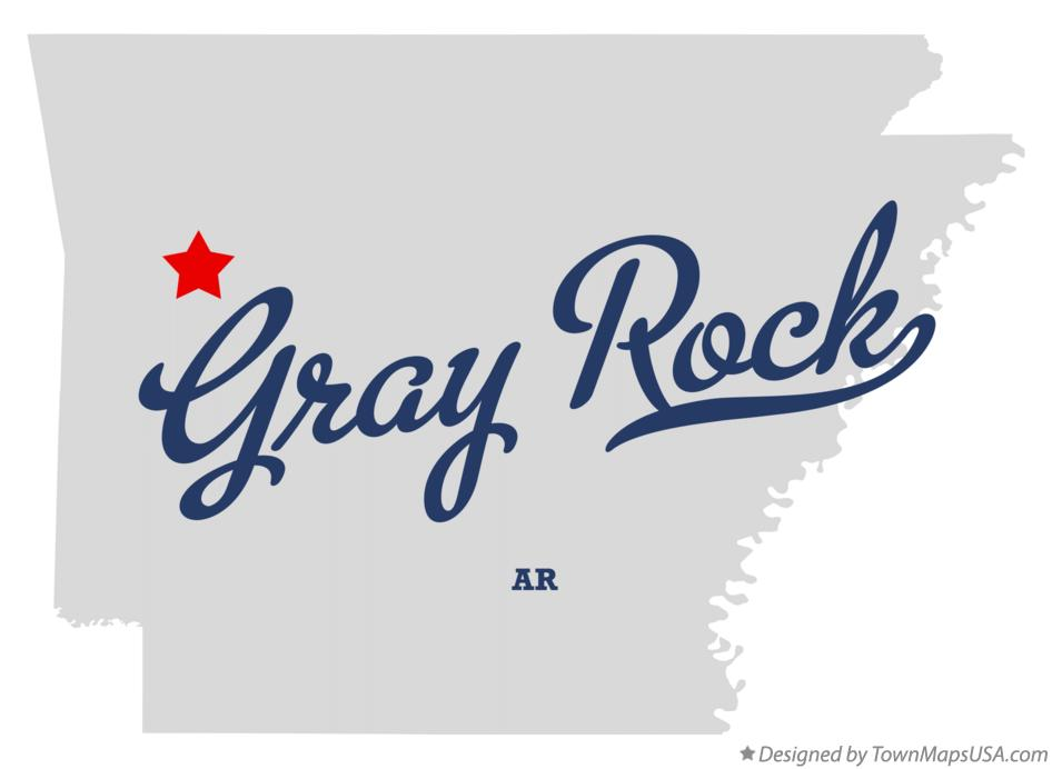 Map of Gray Rock Arkansas AR
