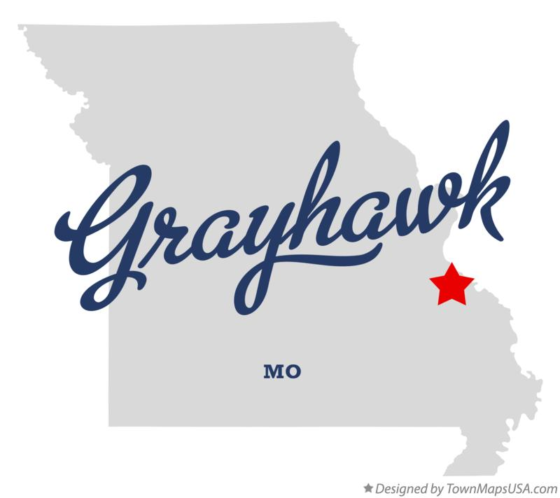 Map of Grayhawk Missouri MO