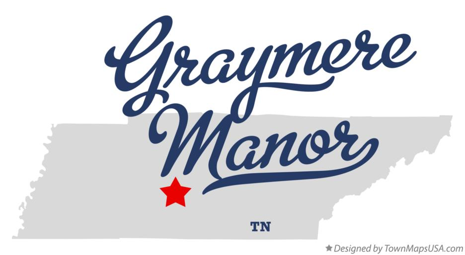 Map of Graymere Manor Tennessee TN
