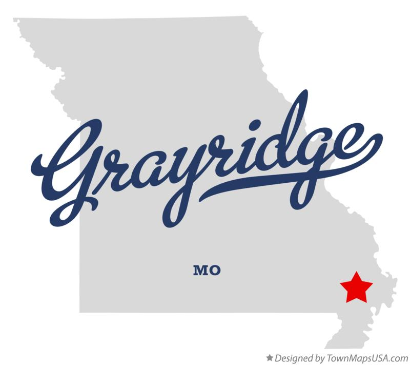 Map of Grayridge Missouri MO