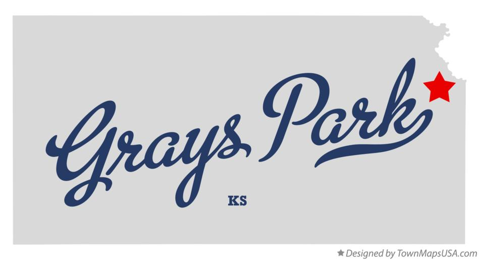 Map of Grays Park Kansas KS