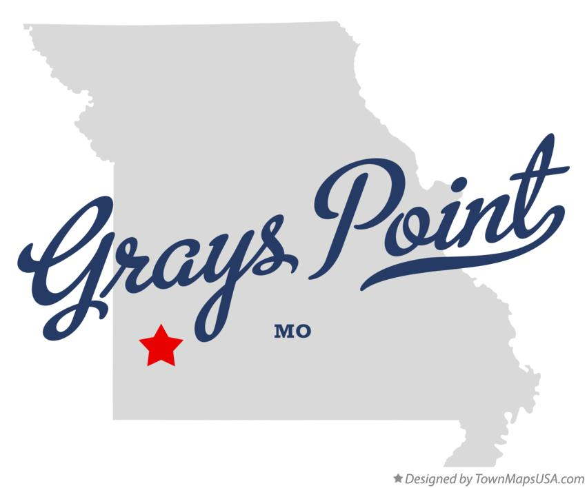 Map of Grays Point Missouri MO