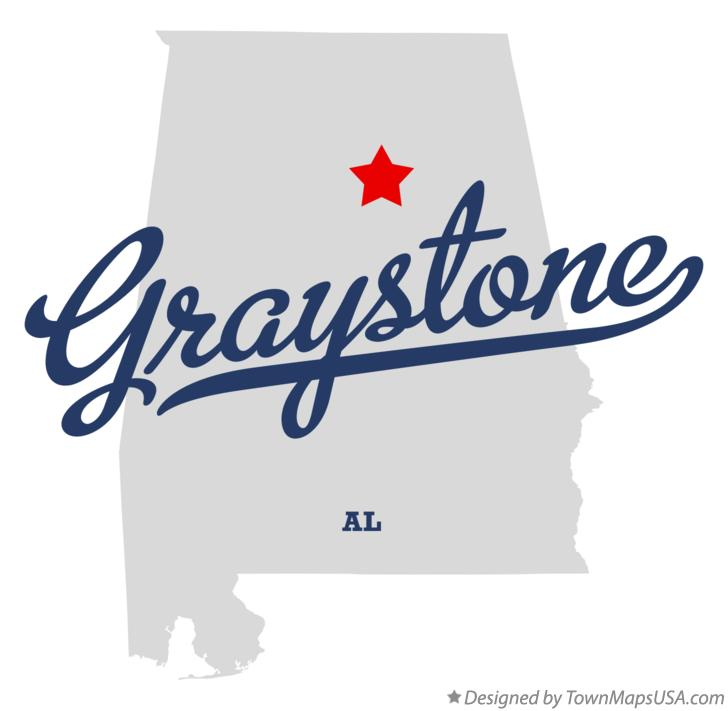 Map of Graystone Alabama AL