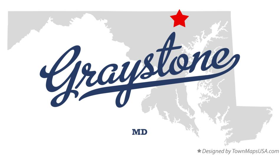 Map of Graystone Maryland MD