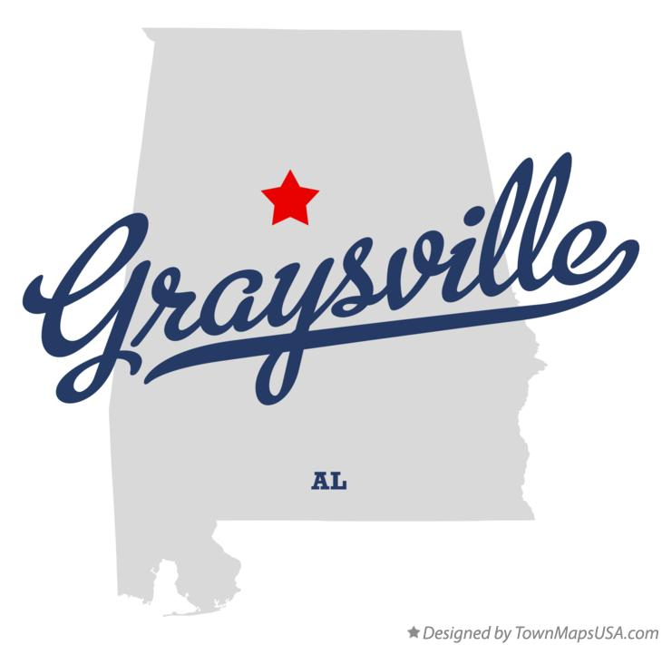 Map of Graysville Alabama AL