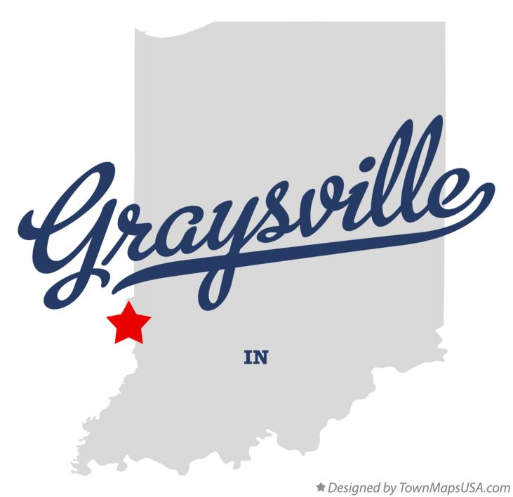Map of Graysville Indiana IN