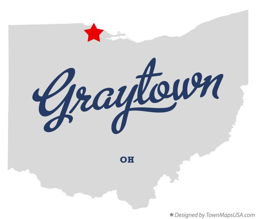 Map of Graytown Ohio OH