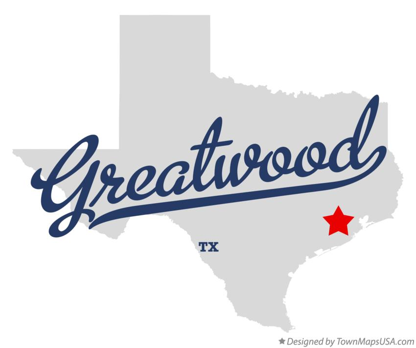 Map of Greatwood Texas TX