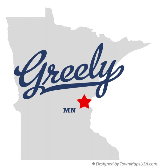 Map of Greely Minnesota MN