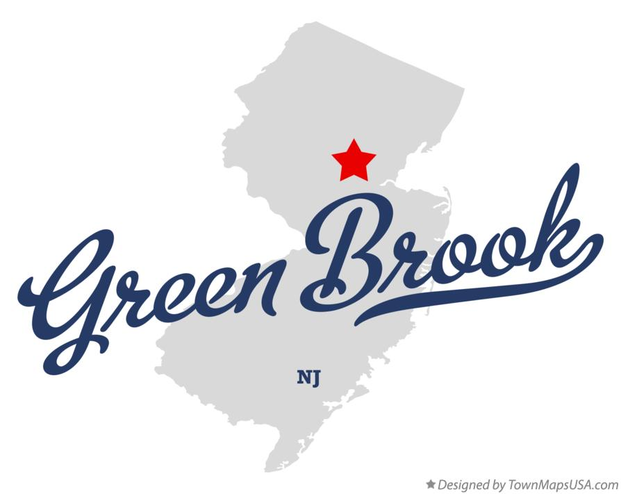 Green Brook Nj >> Map Of Green Brook Nj New Jersey