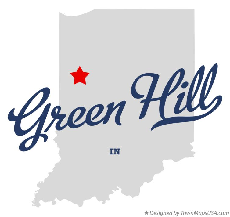 Map of Green Hill Indiana IN