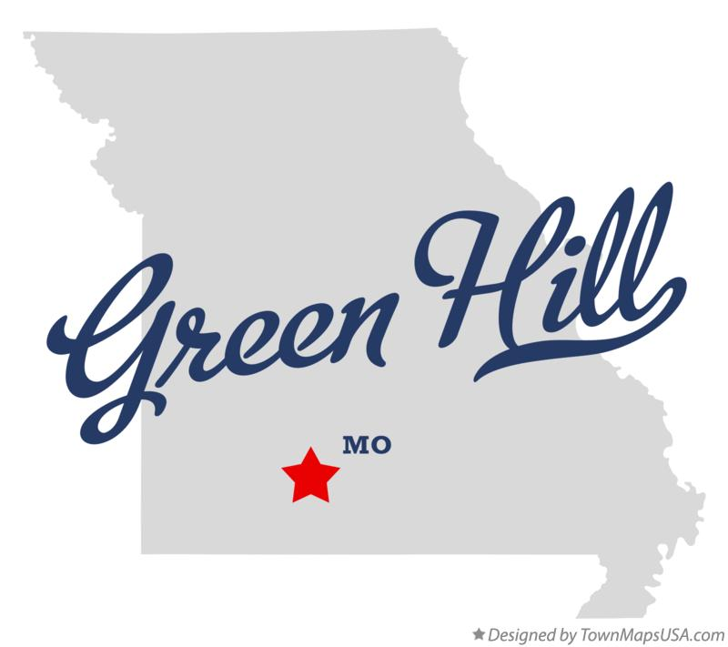 Map of Green Hill Missouri MO
