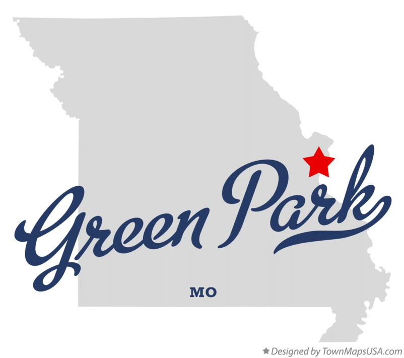 Map of Green Park Missouri MO